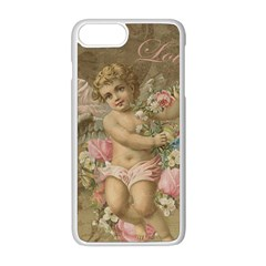 Cupid   Vintage Apple Iphone 8 Plus Seamless Case (white)