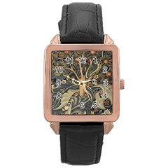 Design 1331489 1920 Rose Gold Leather Watch