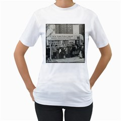Vintage 1326261 1920 Women s T Shirt (white) (two Sided)