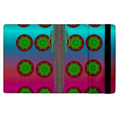 Meditative Abstract Temple Of Love And Meditation Apple Ipad 3/4 Flip Case