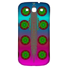 Meditative Abstract Temple Of Love And Meditation Samsung Galaxy S3 S Iii Classic Hardshell Back Case
