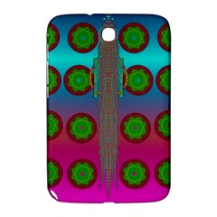 Meditative Abstract Temple Of Love And Meditation Samsung Galaxy Note 8 0 N5100 Hardshell Case
