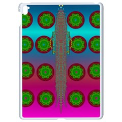 Meditative Abstract Temple Of Love And Meditation Apple Ipad Pro 9 7   White Seamless Case