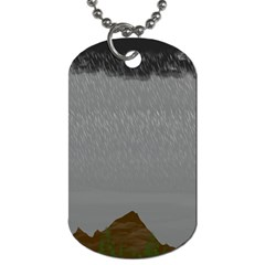 Misty Mountain Pt 2 Dog Tag (two Sides)