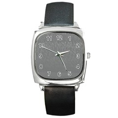 Misty Mountain Pt 2 Square Metal Watch