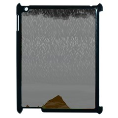 Misty Mountain Pt 2 Apple Ipad 2 Case (black)