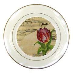 Tulip 1229027 1920 Porcelain Plates