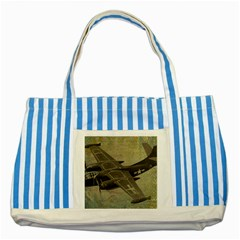 War 1326244 1920 Striped Blue Tote Bag