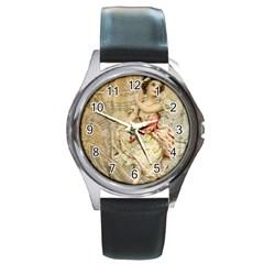 Fairy 1229009 1280 Round Metal Watch