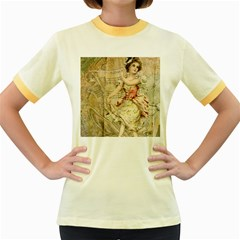 Fairy 1229009 1280 Women s Fitted Ringer T Shirts