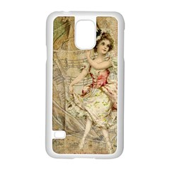Fairy 1229009 1280 Samsung Galaxy S5 Case (white)