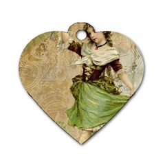 Fairy 1229005 1280 Dog Tag Heart (two Sides)