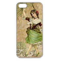 Fairy 1229005 1280 Apple Seamless Iphone 5 Case (clear)