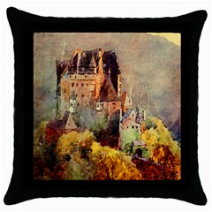 Painting 1241680 1920 Throw Pillow Case (black)