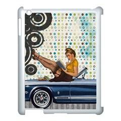 Vintage 1251863 1920 Apple Ipad 3/4 Case (white)