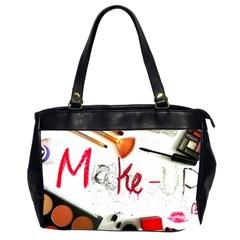Makeup  Office Handbags (2 Sides)