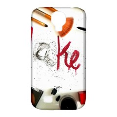 Makeup  Samsung Galaxy S4 Classic Hardshell Case (pc+silicone)