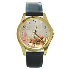 Background 1227570 1920 Round Gold Metal Watch