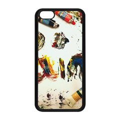 Paint Apple Iphone 5c Seamless Case (black)