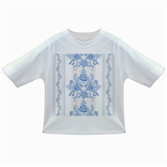 Beautiful,pale Blue,floral,shabby Chic,pattern Infant/toddler T Shirts