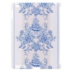 Beautiful,pale Blue,floral,shabby Chic,pattern Apple Ipad 3/4 Hardshell Case (compatible With Smart Cover)