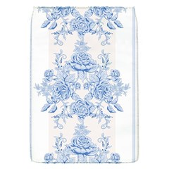 Beautiful,pale Blue,floral,shabby Chic,pattern Flap Covers (s)