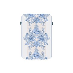 Beautiful,pale Blue,floral,shabby Chic,pattern Apple Ipad Mini Protective Soft Cases