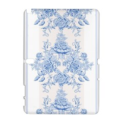 Beautiful,pale Blue,floral,shabby Chic,pattern Galaxy Note 1