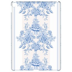 Beautiful,pale Blue,floral,shabby Chic,pattern Apple Ipad Pro 12 9   Hardshell Case