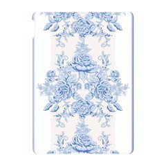 Beautiful,pale Blue,floral,shabby Chic,pattern Apple Ipad Pro 10 5   Hardshell Case