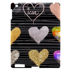 Modern Heart Pattern Apple Ipad 3/4 Hardshell Case