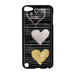 Modern Heart Pattern Apple Ipod Touch 5 Case (black)