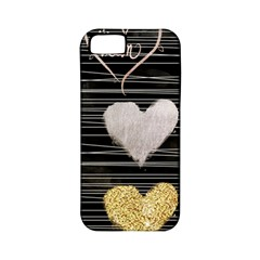 Modern Heart Pattern Apple Iphone 5 Classic Hardshell Case (pc+silicone)