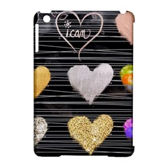 Modern Heart Pattern Apple Ipad Mini Hardshell Case (compatible With Smart Cover)