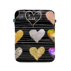Modern Heart Pattern Apple Ipad 2/3/4 Protective Soft Cases