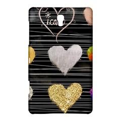 Modern Heart Pattern Samsung Galaxy Tab S (8 4 ) Hardshell Case