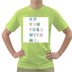 Adventure With Me Green T Shirt
