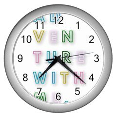 Adventure With Me Wall Clocks (silver)