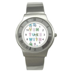 Adventure With Me Stainless Steel Watch