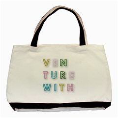 Adventure With Me Basic Tote Bag