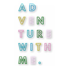Adventure With Me Shower Curtain 48  X 72  (small)