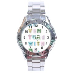 Adventure With Me Stainless Steel Analogue Watch