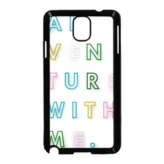 Adventure With Me Samsung Galaxy Note 3 Neo Hardshell Case (black)