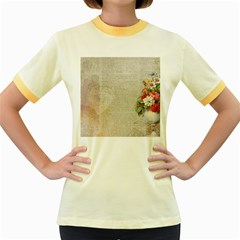 Background 1227577 1280 Women s Fitted Ringer T Shirts