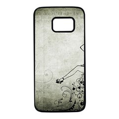 Grunge 1133693 1920 Samsung Galaxy S7 Black Seamless Case