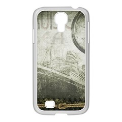Vintage 1135014 1920 Samsung Galaxy S4 I9500/ I9505 Case (white)