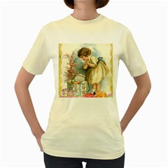 Easter 1225815 1280 Women s Yellow T Shirt