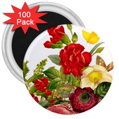 Flower Bouquet 1131891 1920 3  Magnets (100 Pack)