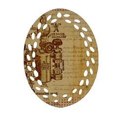 Vintage 1123731 1920 Ornament (oval Filigree)