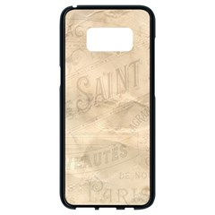 Paris 1118815 1280 Samsung Galaxy S8 Black Seamless Case